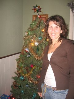 me and the christmas tree
